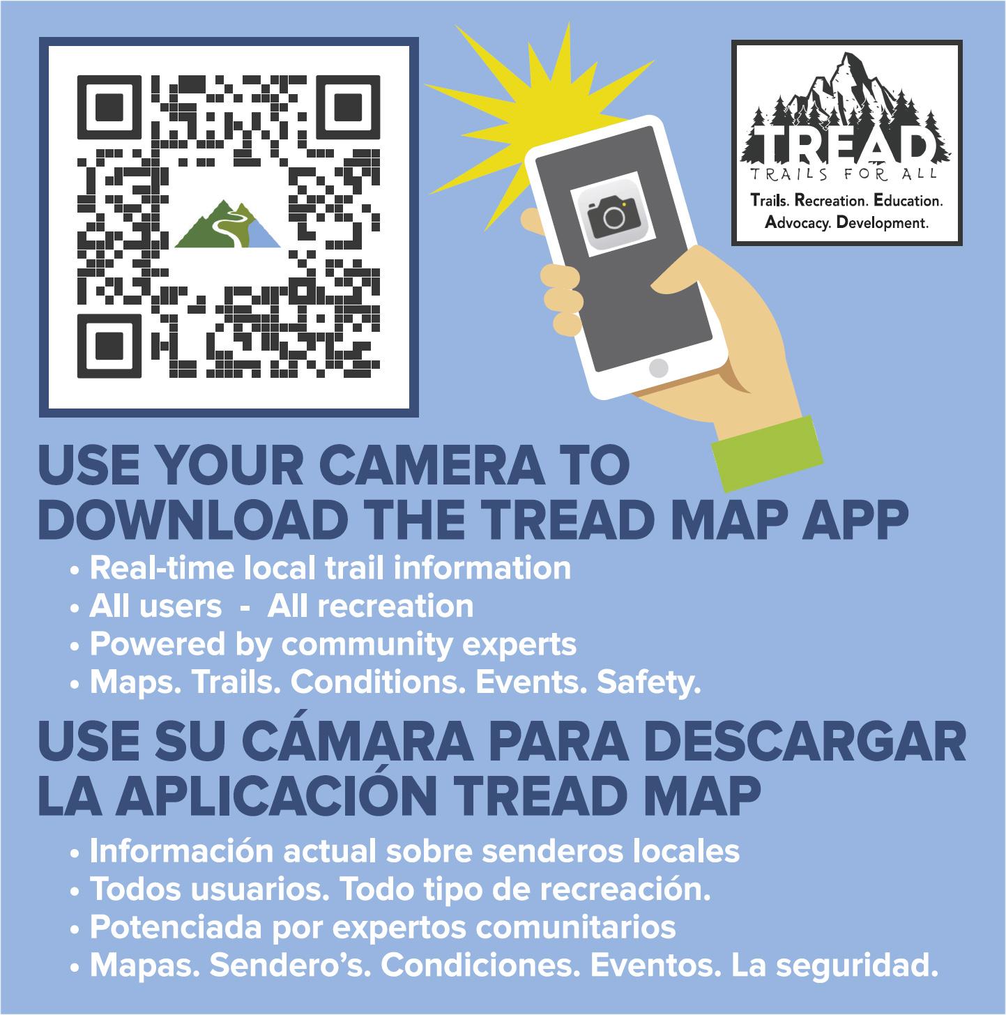 TREAD Map: Trail Signs